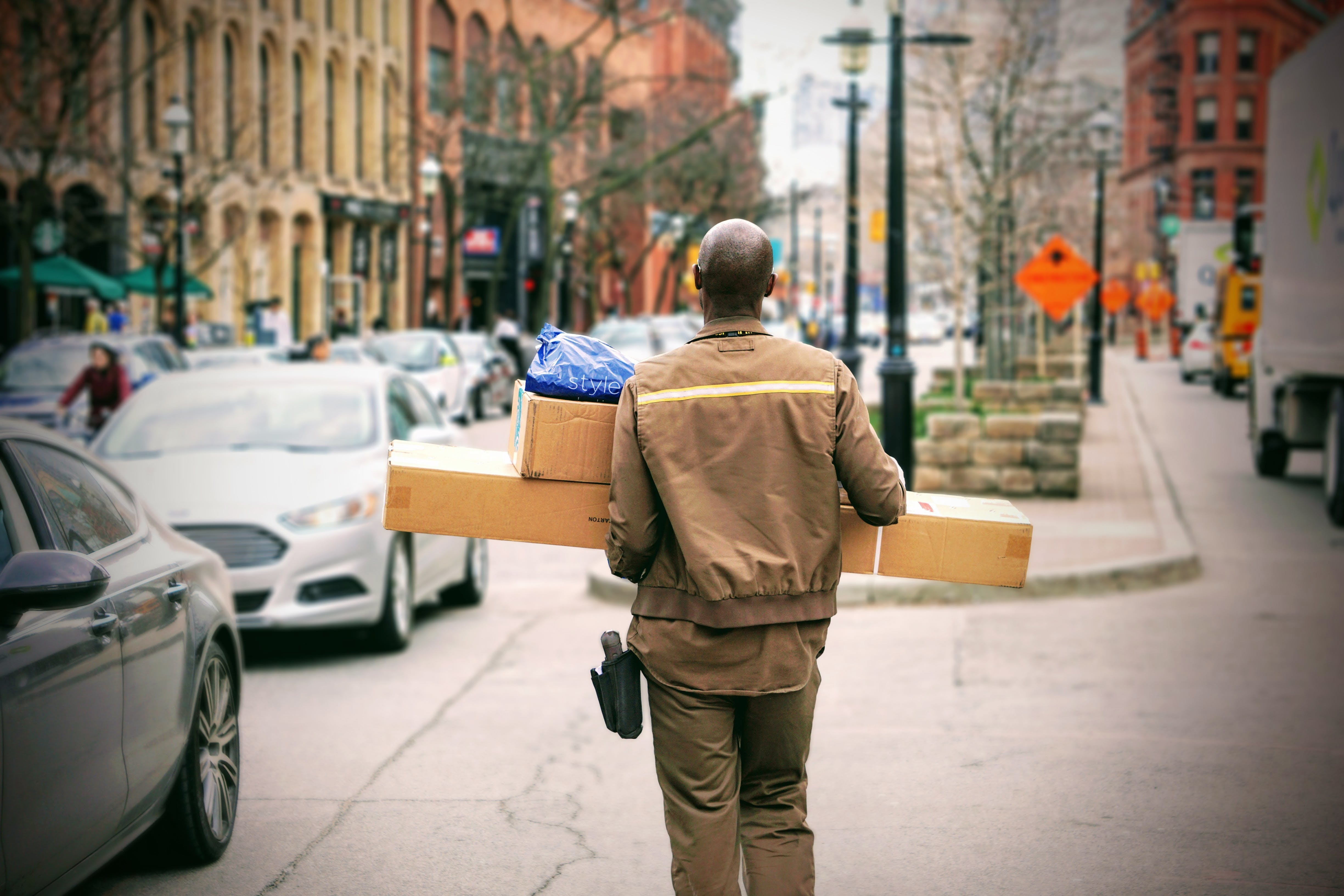 Free stock photo of delivery, logistic, mail, package