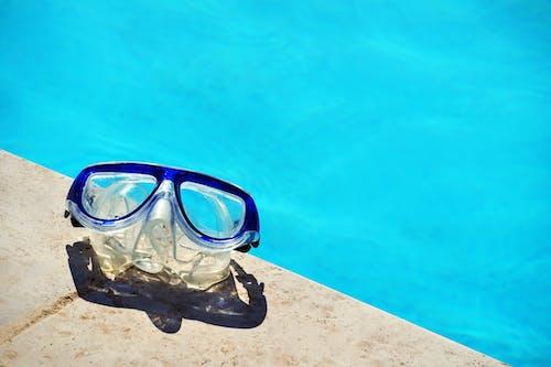 アウトドア, ゴーグル, スイミングプール, プールの無料の写真素材