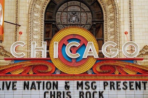 Chicago Theatre Signage