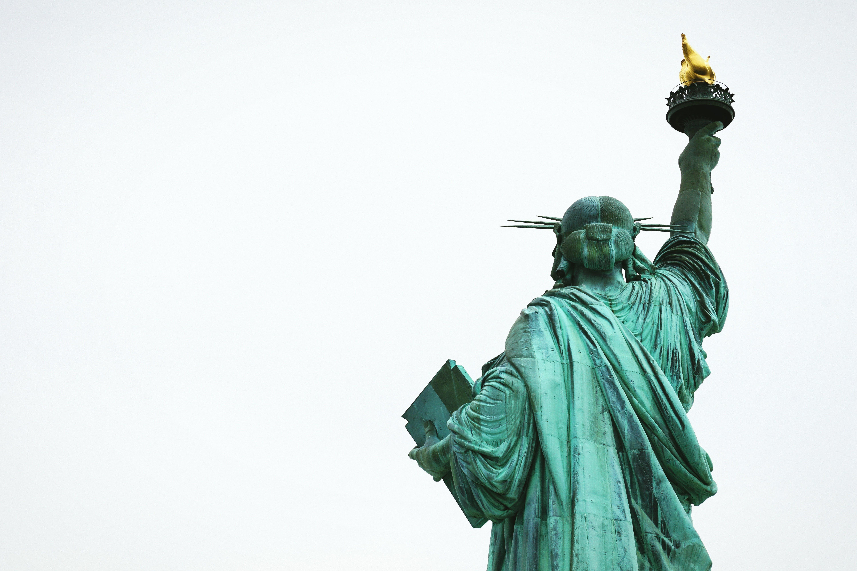 Kostenloses Stock Foto zu freiheitsstatue, himmel, monument, monumentale skulptur