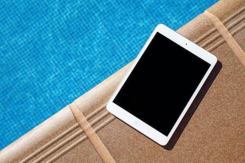 Photos gratuites de bassin, bleu, été, ipad