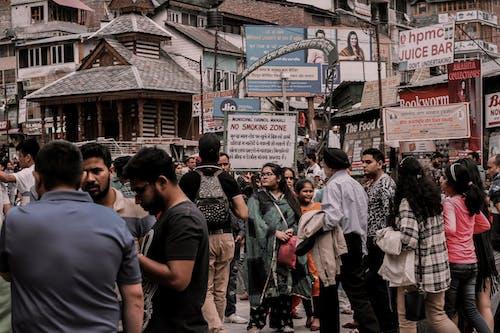 Imagine de stoc gratuită din aglomerație, asiatici, India, localitate