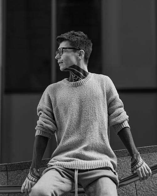 Δωρεάν στοκ φωτογραφιών με άνδρας, Άνθρωποι, άνθρωπος, ασπρόμαυρο