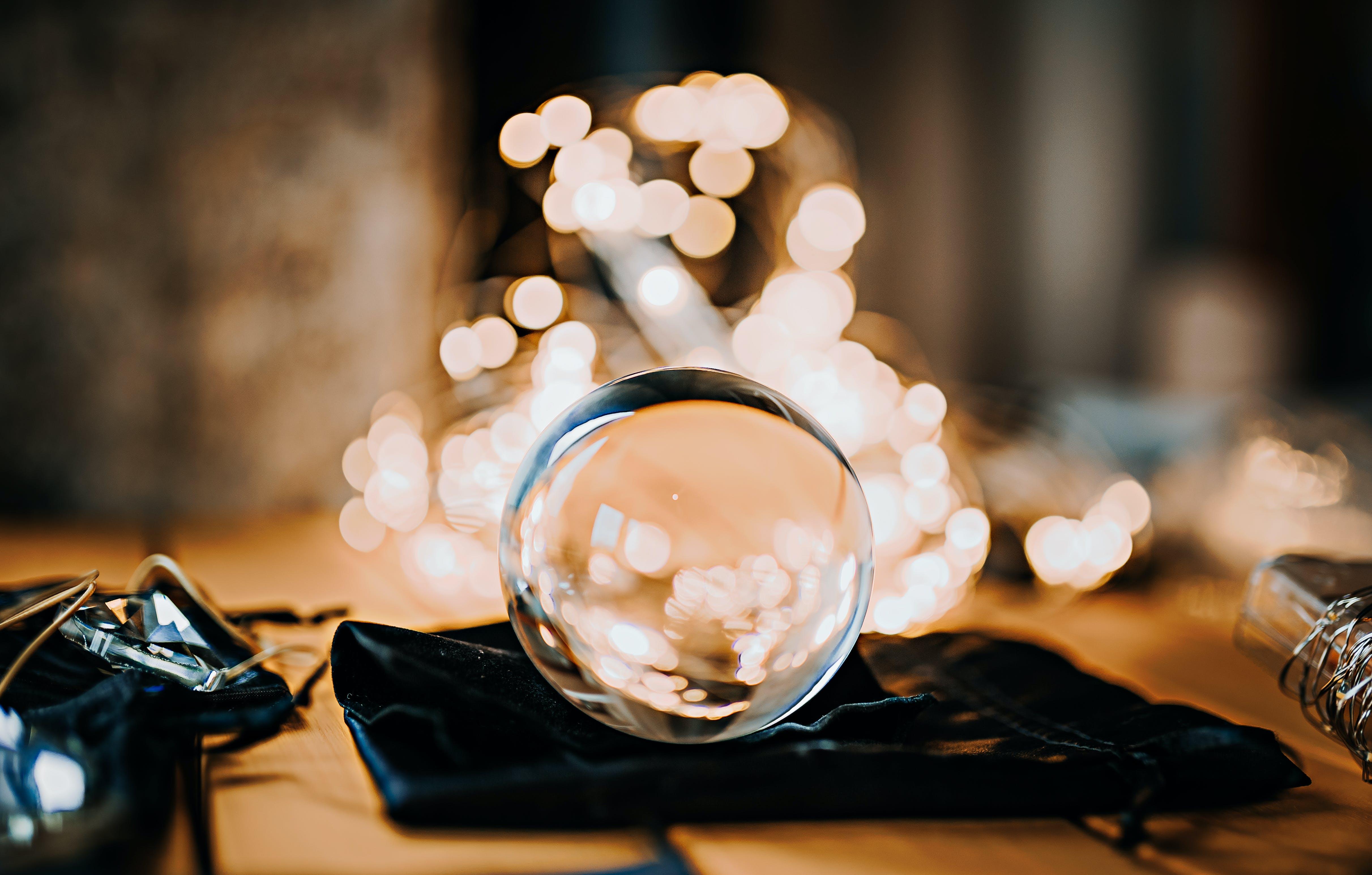 Kostenloses Stock Foto zu glas, glaskugel, lensball, makro