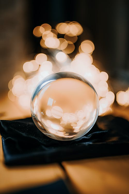 Free stock photo of ball, blurry, christmas lights, depth of field