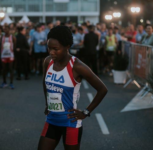 Foto d'estoc gratuïta de acció, atleta, atletisme, carrera