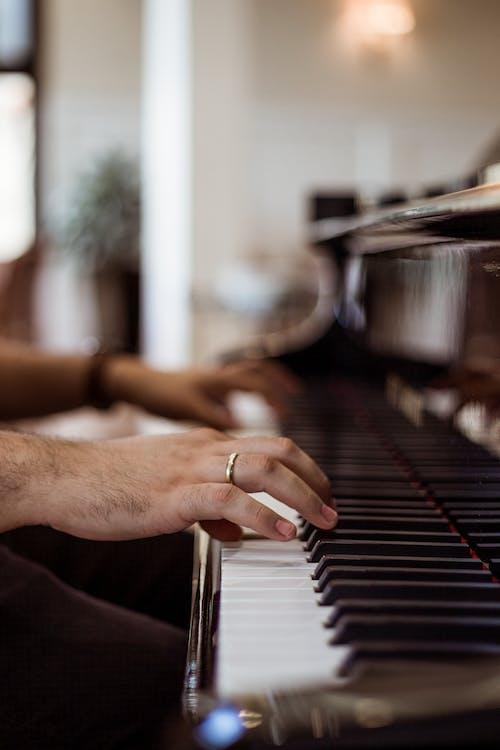 ebenholz, elfenbein, klavier