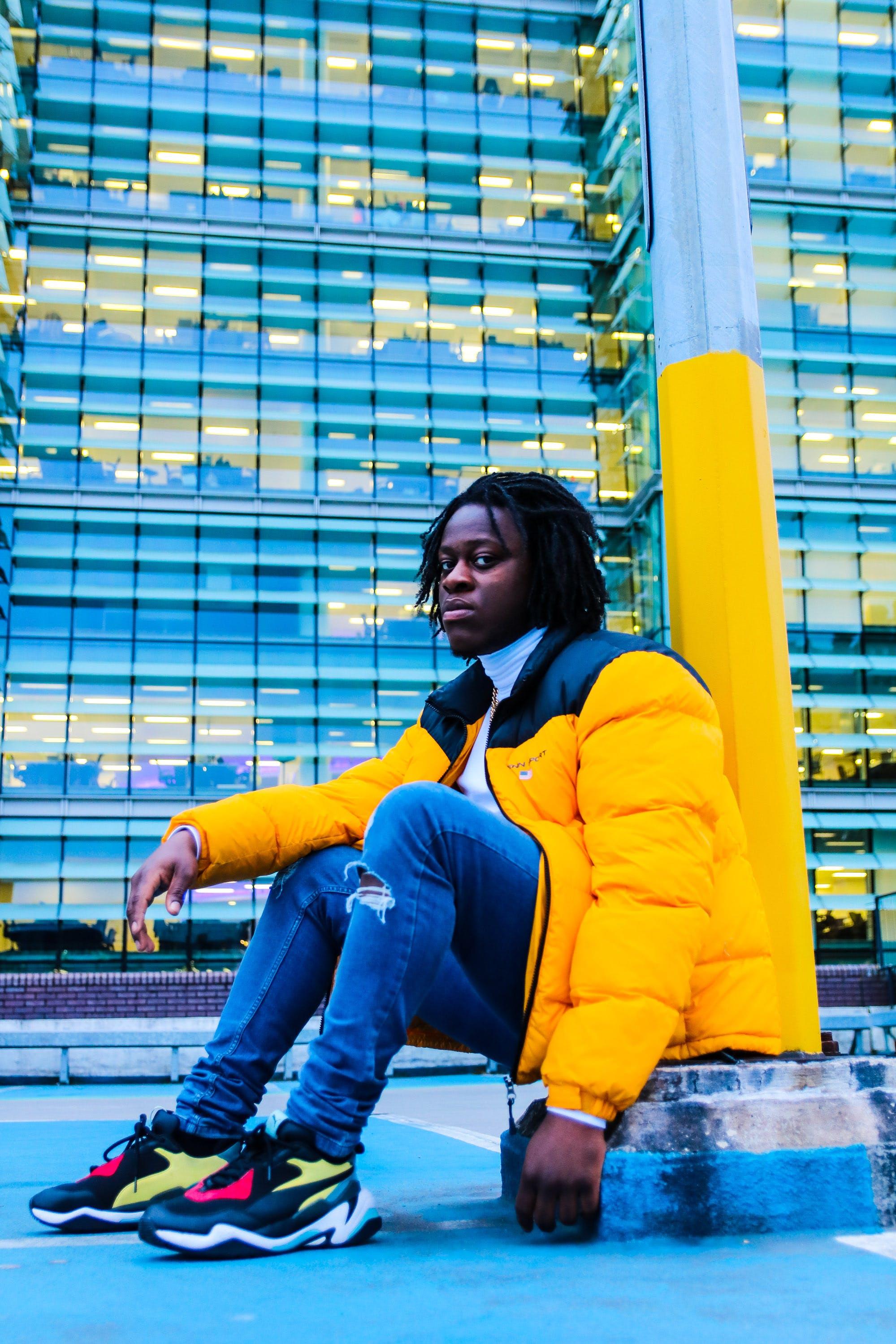 Foto d'estoc gratuïta de desgast, estil, home, home de raça negra