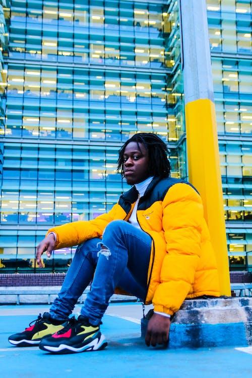 Ingyenes stockfotó divat, fekete ember, Férfi, modell témában