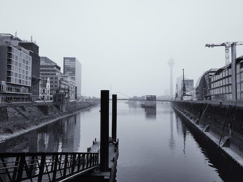 Základová fotografie zdarma na téma düsseldorf, medienhafen, přístav