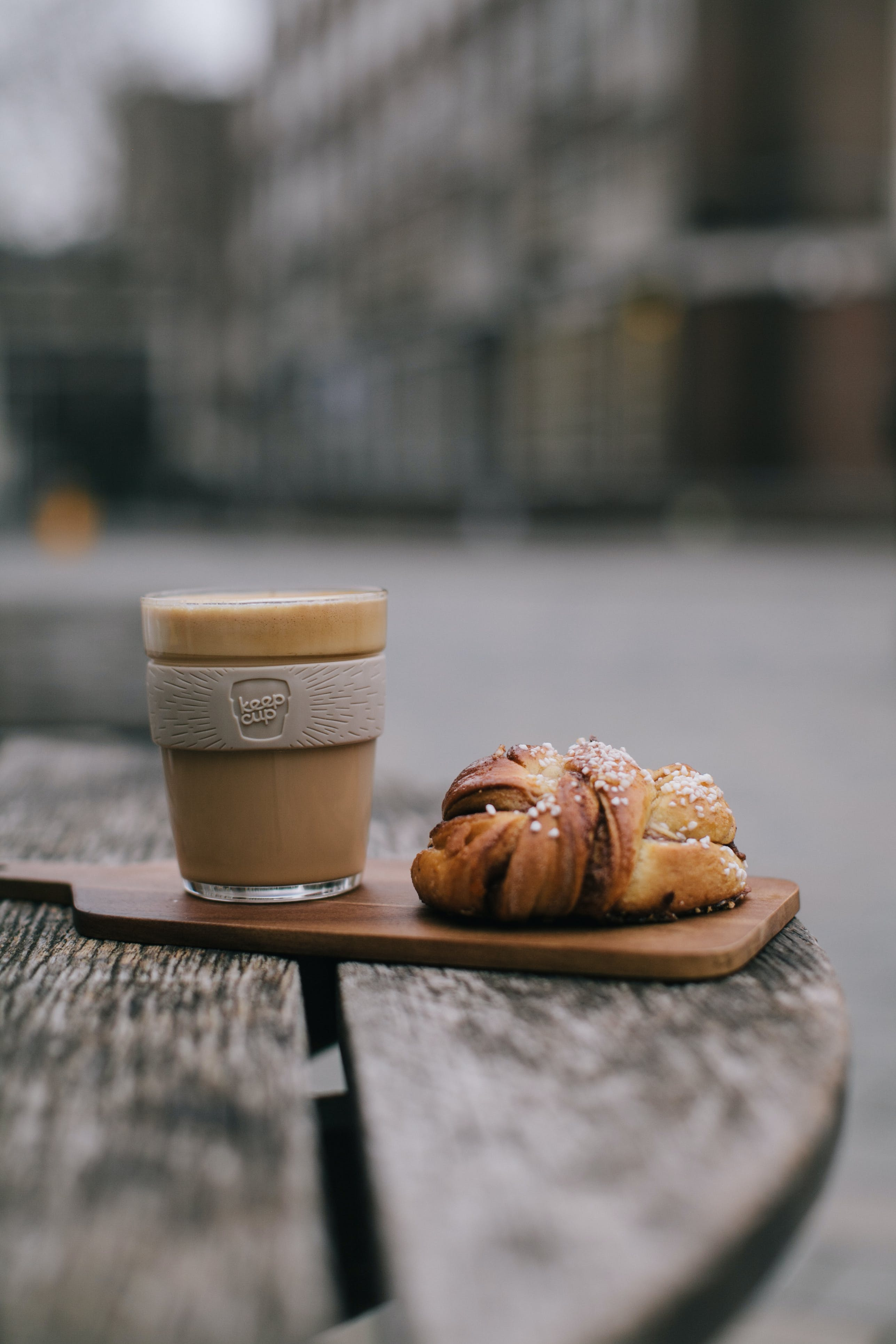 Darmowe zdjęcie z galerii z chleb, drink, jedzenie, kawa