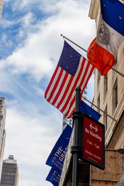 美國, 美國國旗 的 免費圖庫相片