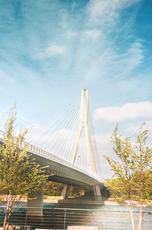αρχιτεκτονική, γέφυρα, δρόμος