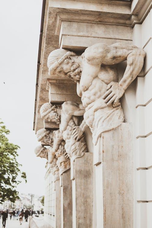 Fotos de stock gratuitas de arquitectura, Arte, canica, cielo