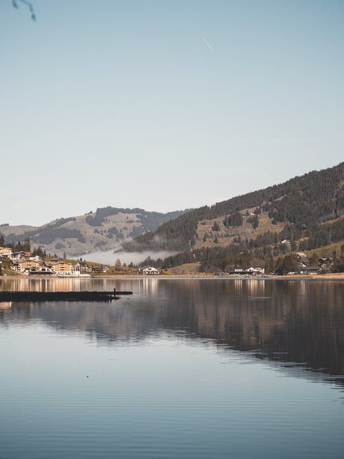 Fotos de stock gratuitas de lago de montaña, montaña, verano