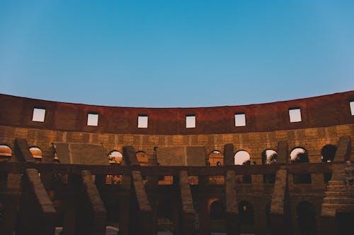 Gratis lagerfoto af åben, Amfiteater, arkitektur, beton