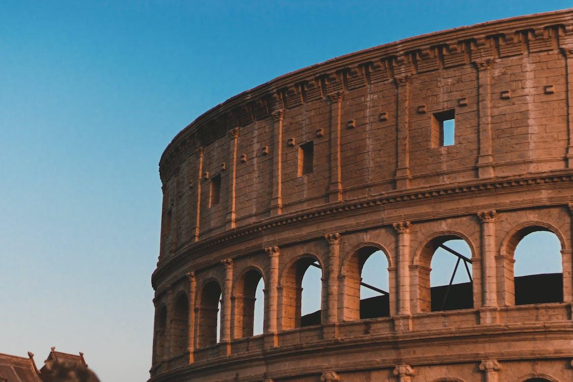 amfiteatr, architektura, atrakcja turystyczna