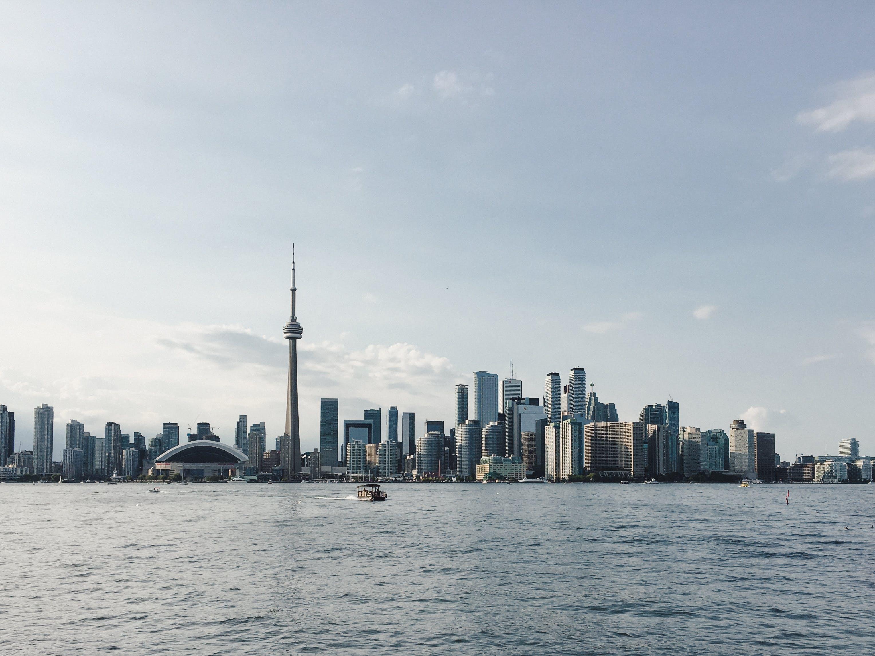 Foto d'estoc gratuïta de centre de la ciutat, iPhone, Toronto