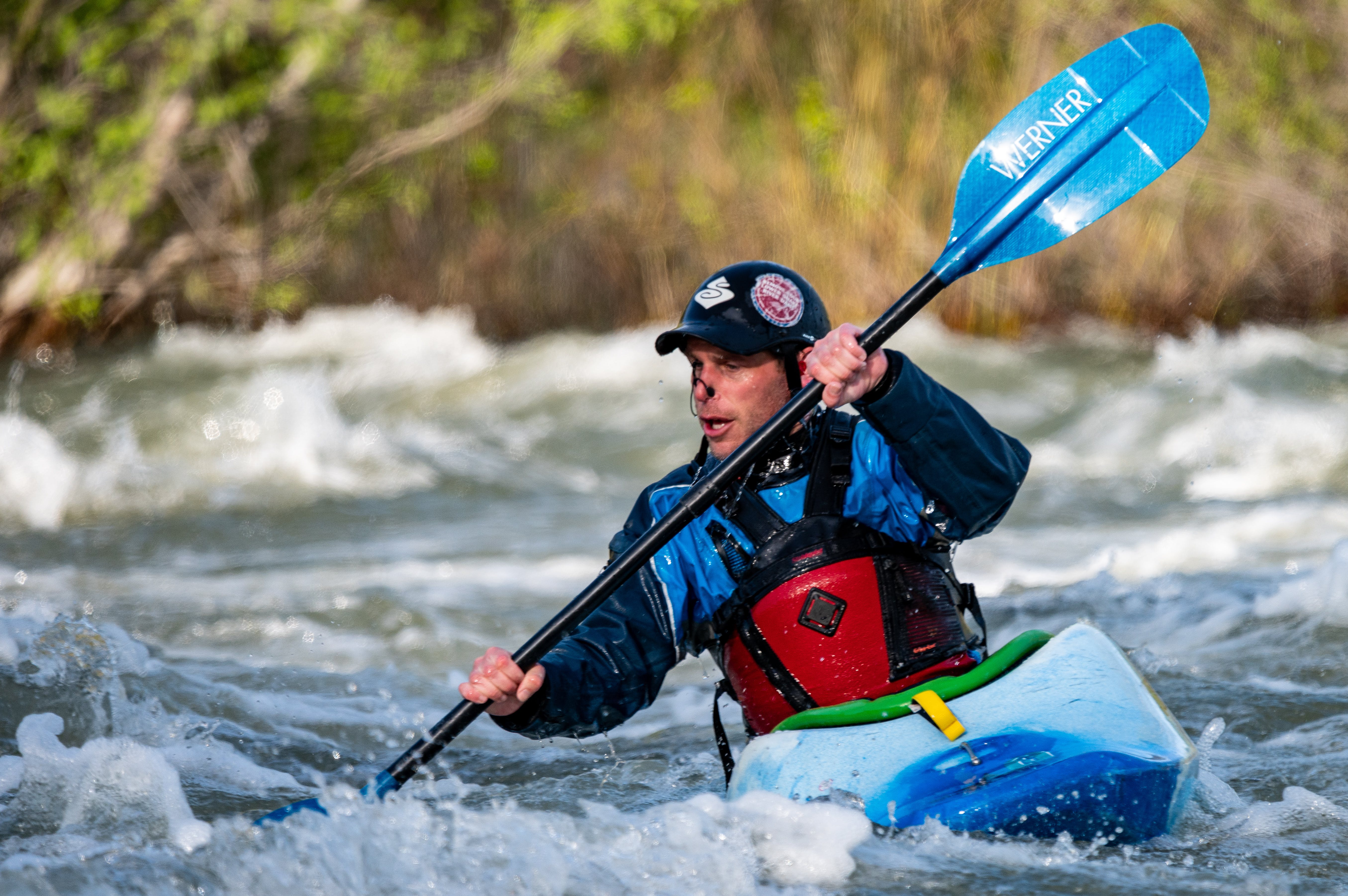 Foto stok gratis arus, kano, kayak, laki-laki