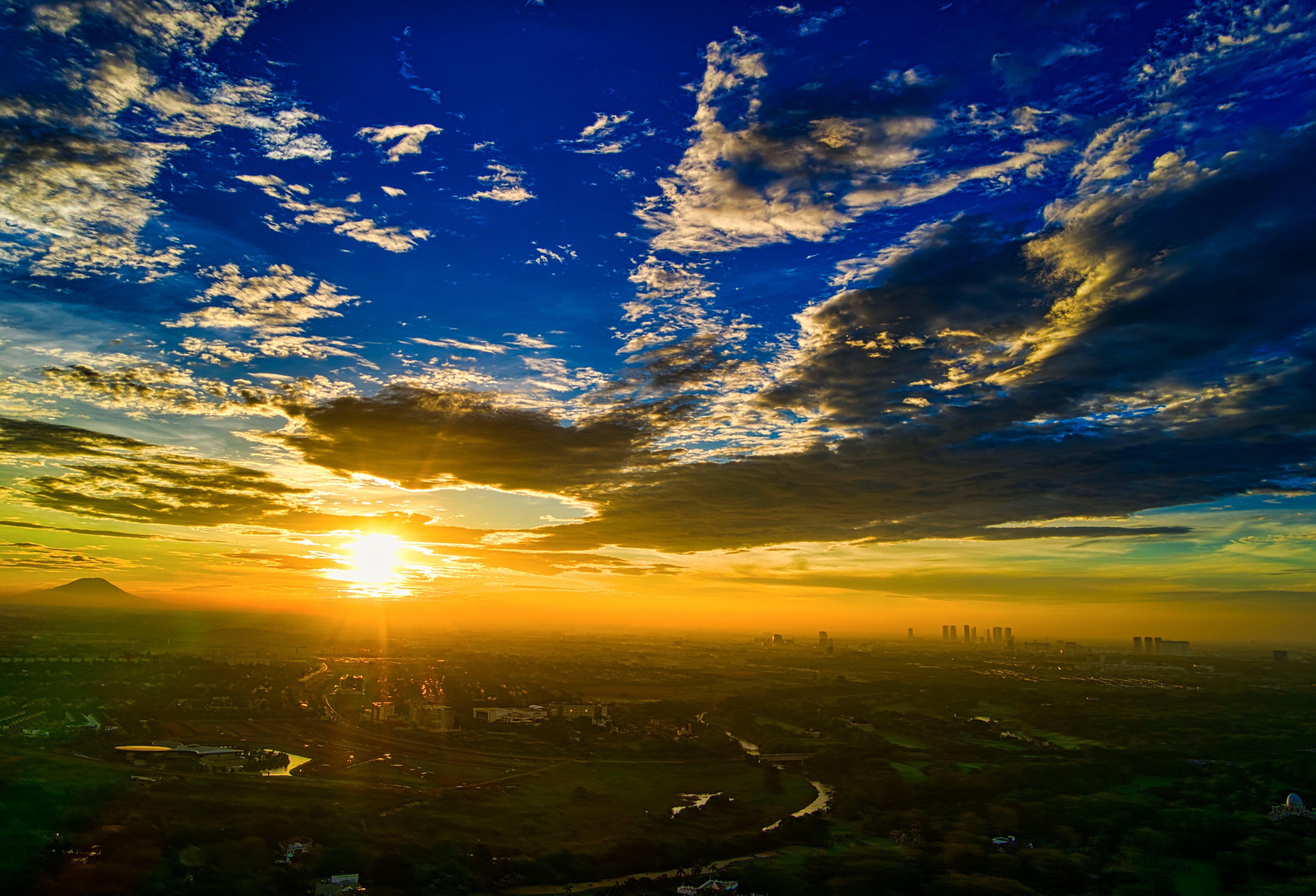 Gratis lagerfoto af droneoptagelse, himmel, Indonesien, luftfoto