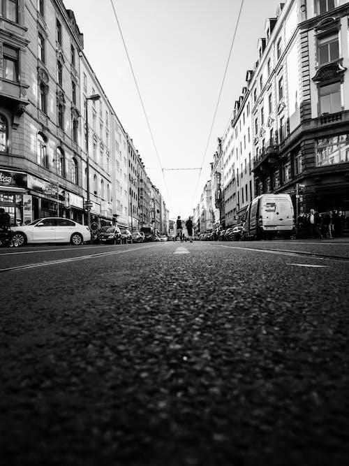 거리, 건물, 깊이, 독일의 무료 스톡 사진