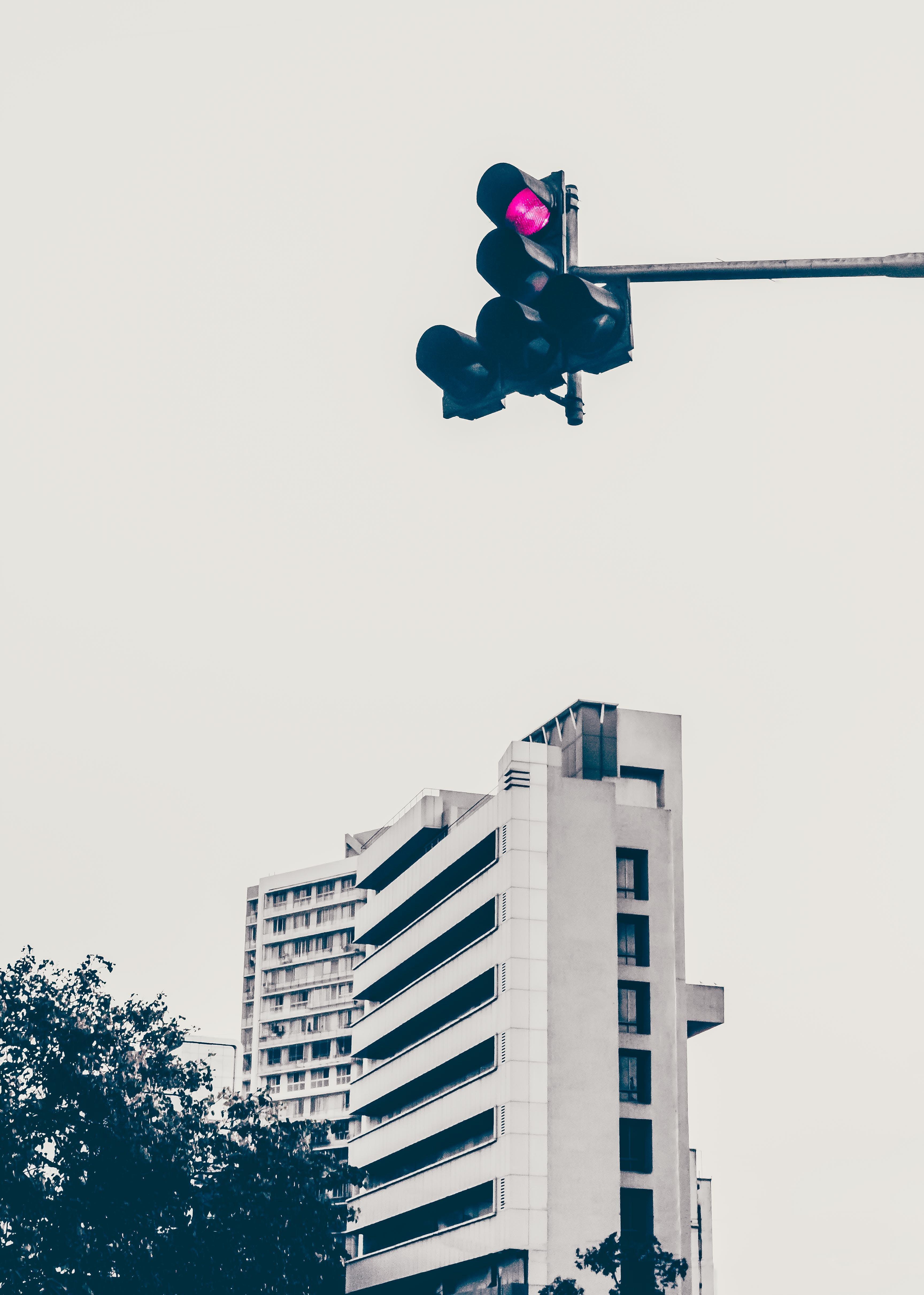 Kostenloses Stock Foto zu architekturdesign, asiatische architektur, fotografie, lichtsignal