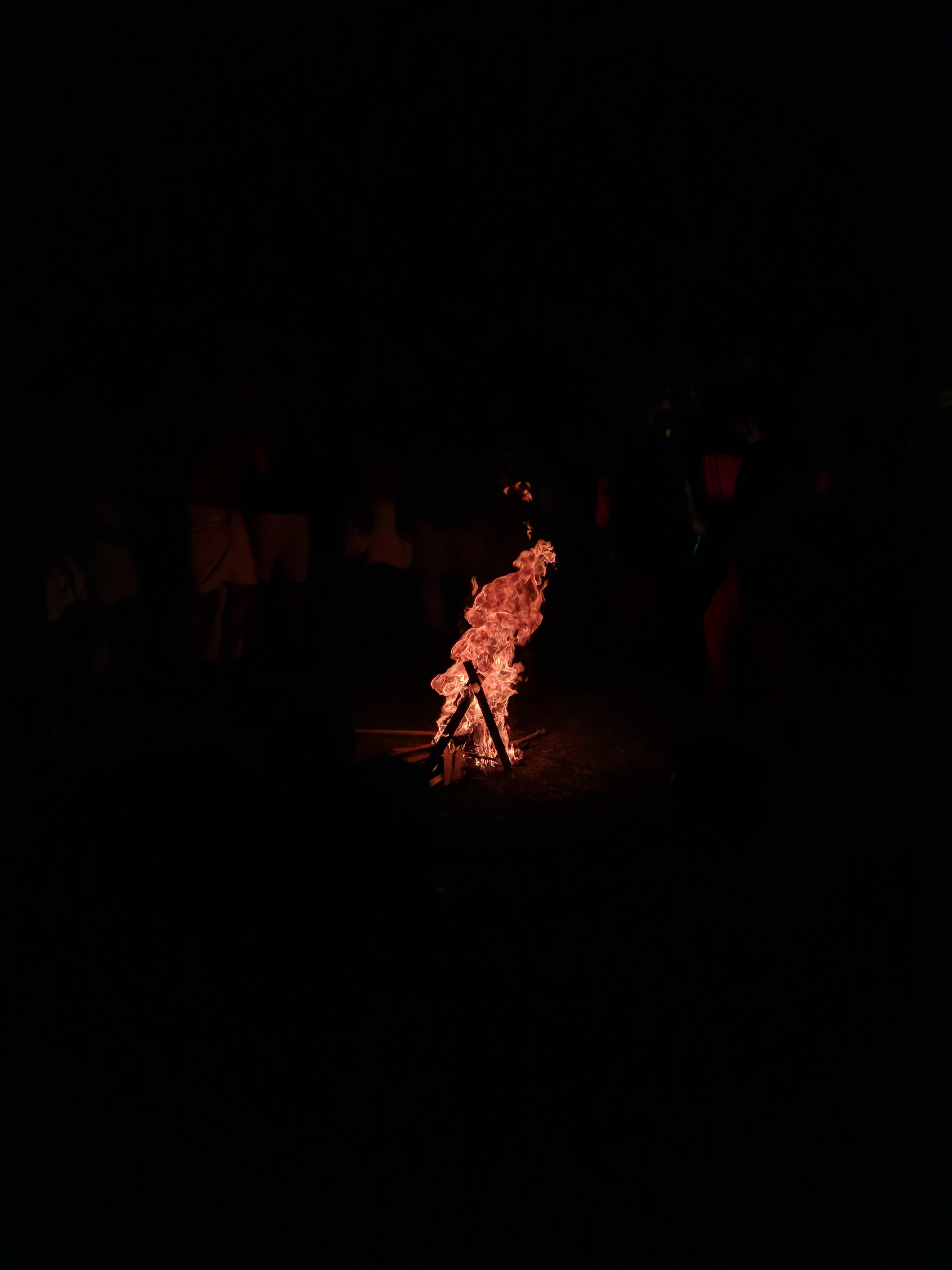Foto d'estoc gratuïta de acampant, foc, foc de campament
