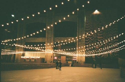 건축, 도시의, 밤, 불빛의 무료 스톡 사진