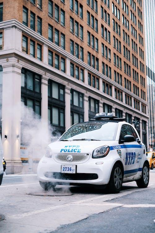 Foto stok gratis asap, kota New York, nypd, polisi