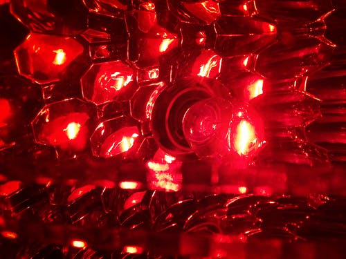 Free stock photo of red light