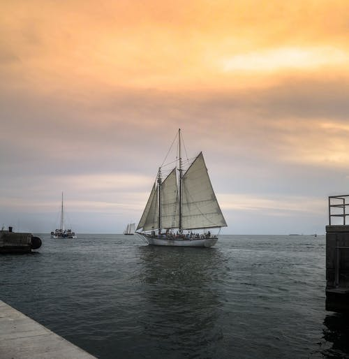Základová fotografie zdarma na téma Florida, Miami, oceán, plachetní člun