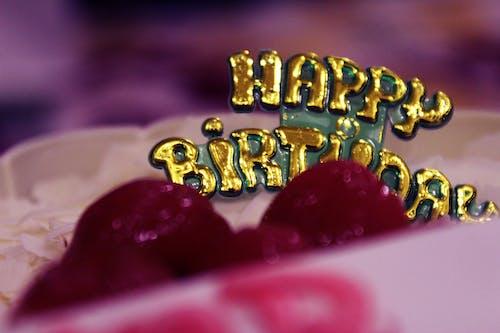 Gratis arkivbilde med bursdag, bursdagskake, gratulerer med dagen, kake