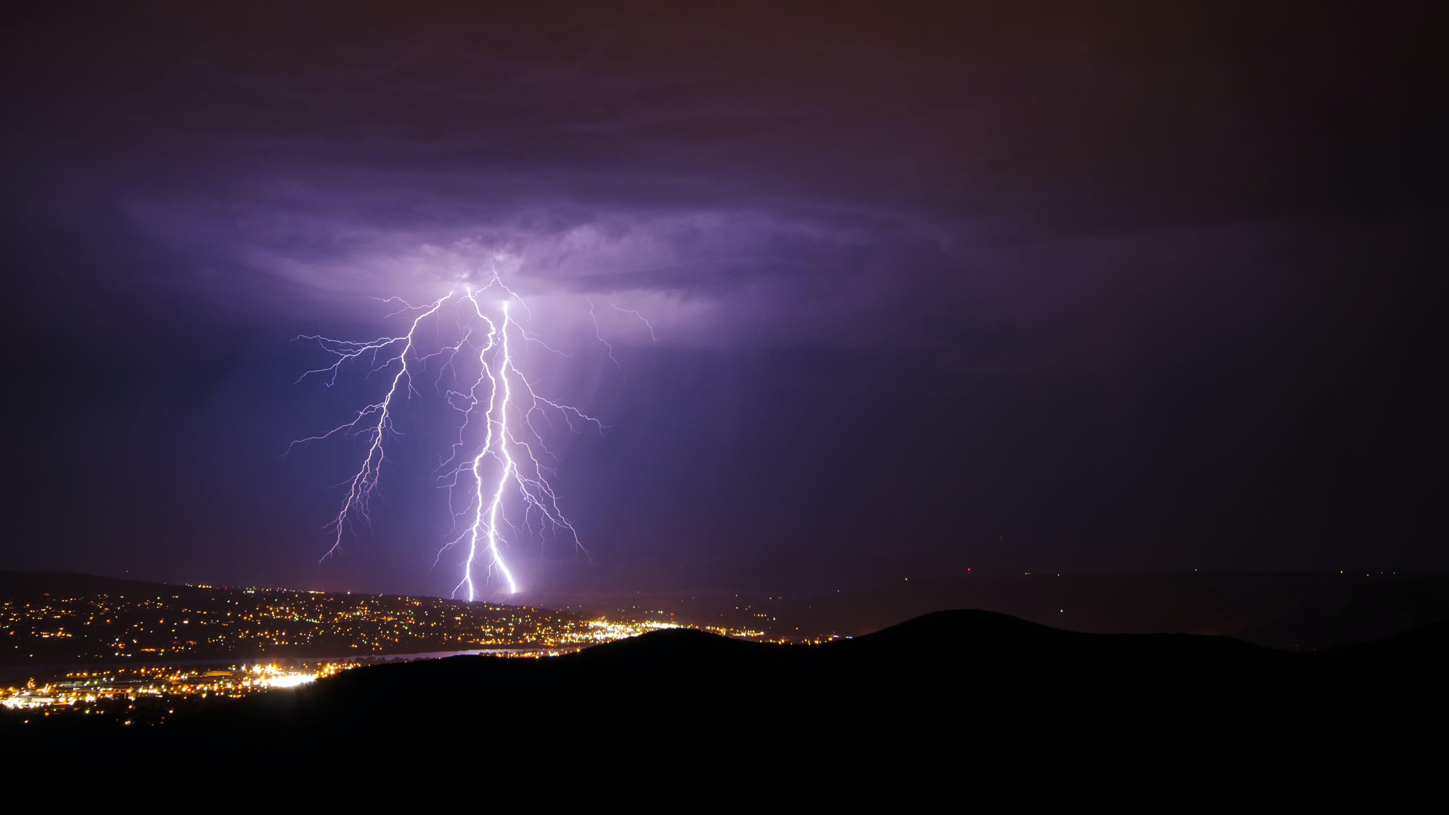 天空, 晚間, 漆黑, 螺栓 的 免費圖庫相片