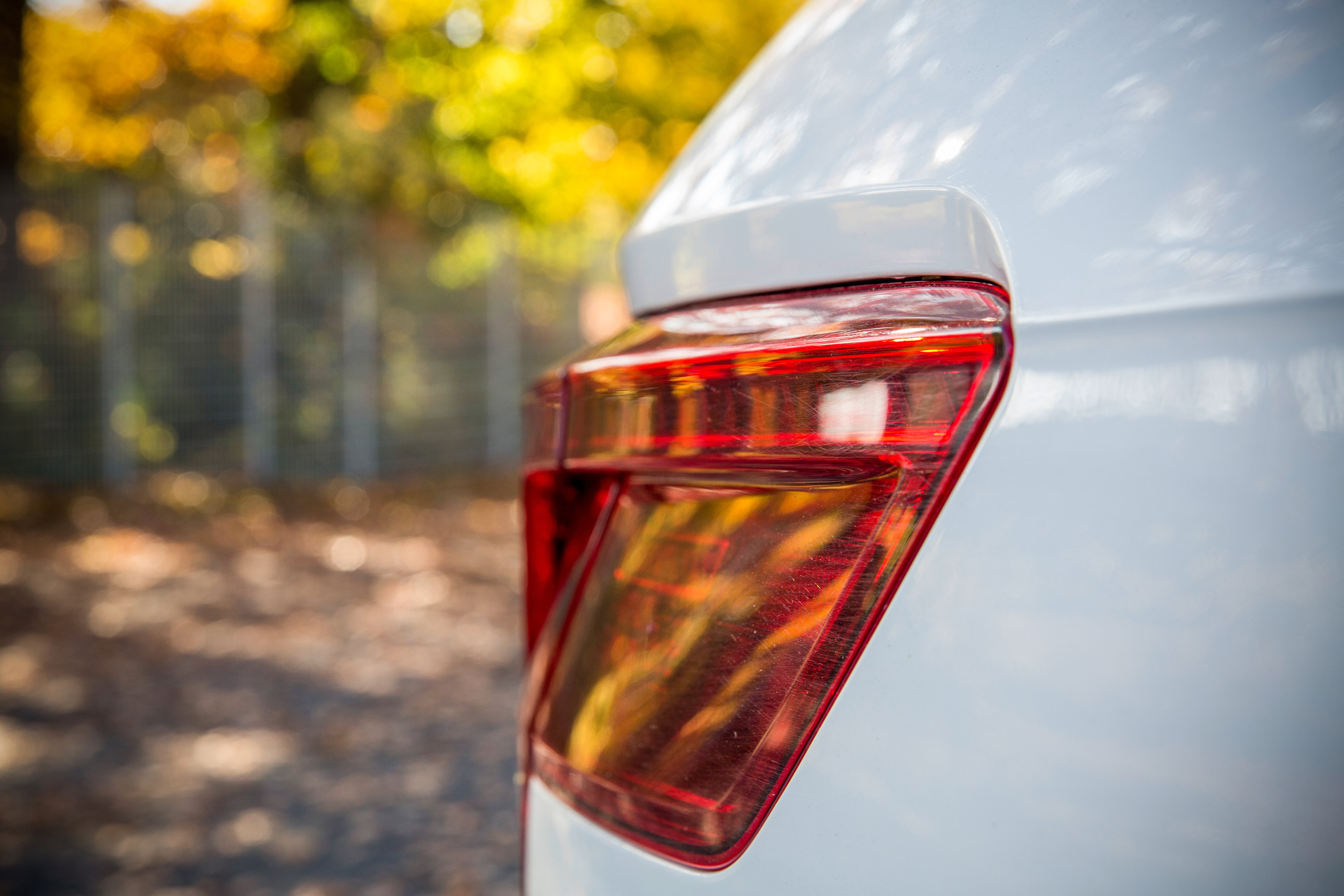 Person Showing Taillight