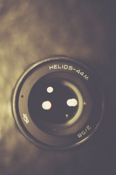 Free stock photo of camera, vintage, lens, blur