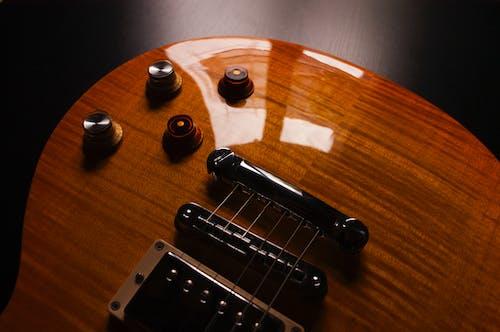 吉他, 弦樂器, 樂器, 特寫 的 免费素材照片