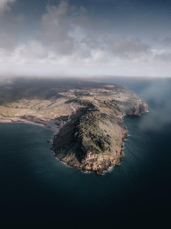 Gratis stockfoto met berg, bird's eye view, eiland