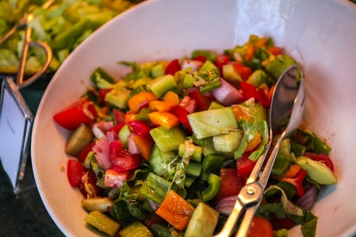 Close-Up Photo of Veggies on Bowl