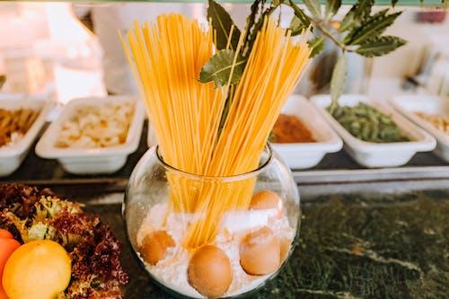 Безкоштовне стокове фото на тему «їжа, буфет, Локшина, сирий»