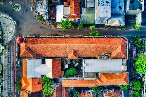 Ingyenes stockfotó drón, drónfelvétel, drónfotózás, építészet témában