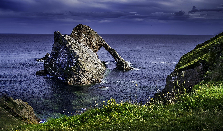 Foto profissional grátis de abismo, cênico, ilha, mar