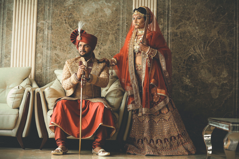 Kostenloses Stock Foto zu asien: menschen, braut, braut und bräutigam, bräutigam