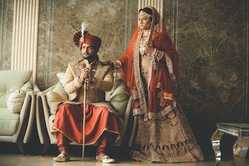 Kostnadsfri bild av äktenskap, ansiktsuttryck, asiatiska människor, bröllop