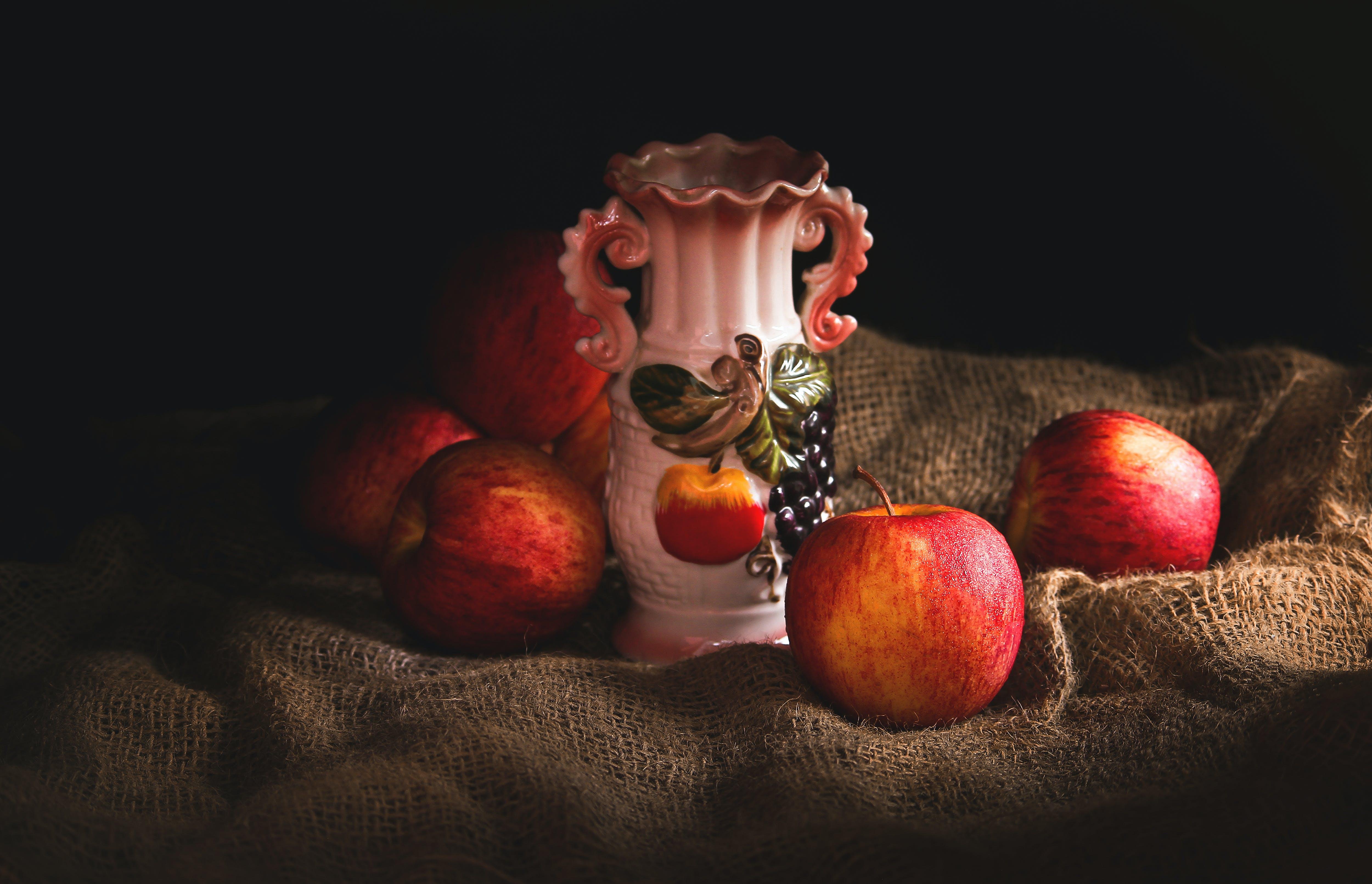 Ingyenes stockfotó 4k-háttérkép, almák, asztali háttérkép, csemege témában