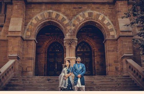 Základová fotografie zdarma na téma # královský # indiancopul, #předsvatební