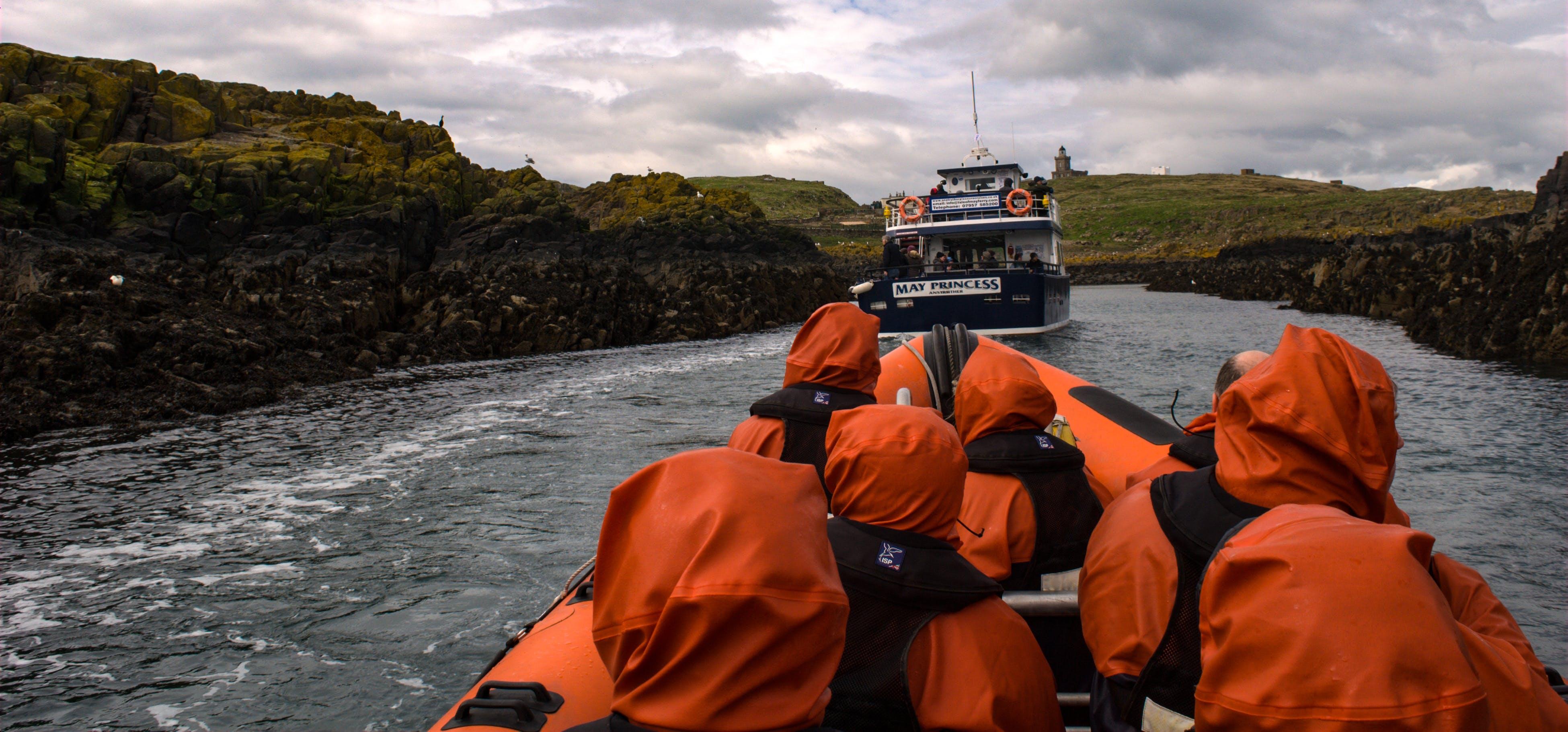 冒險, 島, 快艇, 海 的 免费素材照片