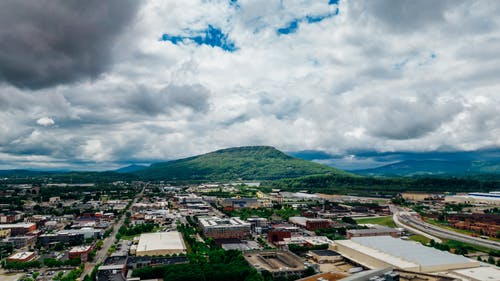 Free stock photo of aerial, aerial photography, chattanooga, lookout mountain