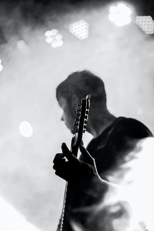 Kostnadsfri bild av elgitarr, ljudinspelning, musikalisk, musikalisk komposition
