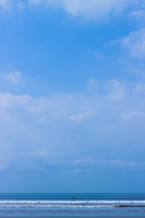 Ilmainen kuvapankkikuva tunnisteilla hiekkaranta, roskat, sininen, taivas