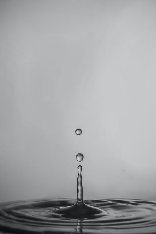 Macro Photography of Water Droplet